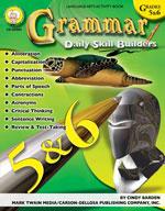 Daily Skill Builders: Grammar: Grades 5-6 by Mark Twain Media