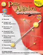 Daily Skill Builders: Pre-Algebra by Mark Twain Media