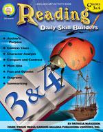 Daily Skill Builders: Reading: Grades 3-4 by Mark Twain Media