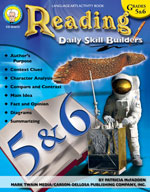 Daily Skill Builders: Reading: Grades 5-6 by Mark Twain Media