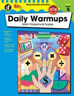 Daily Warmups Math Problems, Grade 4
