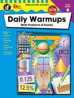 Daily Warmups Math Problems, Grade 6
