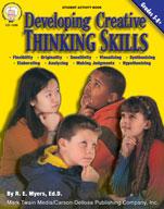 Developing Creative Thinking Skills by Mark Twain Media