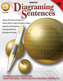 Diagraming Sentences by Mark Twain Media