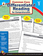 Differentiated Reading for Comprehension, Grade 1 (ebook)