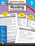 Differentiated Reading for Comprehension, Grade 2 (ebook)