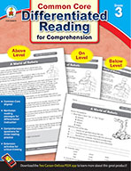 Differentiated Reading for Comprehension, Grade 3 (ebook)
