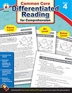 Differentiated Reading for Comprehension, Grade 4 (ebook)