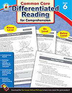 Differentiated Reading for Comprehension, Grade 6 (ebook)