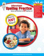 Differentiated Spelling Practice, Grade 1