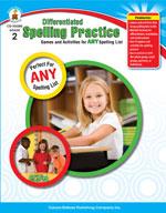 Differentiated Spelling Practice, Grade 2
