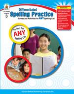 Differentiated Spelling Practice, Grade 3
