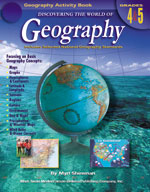 Discovering the World of Geography: Grades 4-5 by Mark Twain Media