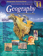 Discovering the World of Geography: Grades 5-6 by Mark Twain Media