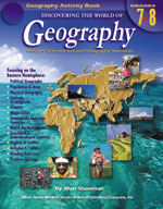 Discovering the World of Geography: Grades 7-8 by Mark Twain Media