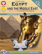 Egypt and the Middle East by Mark Twain Media