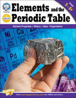 Elements and the Periodic Table by Mark Twain Media