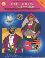 Explorers of the New World by Mark Twain Media