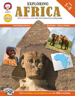 Exploring Africa by Mark Twain Media