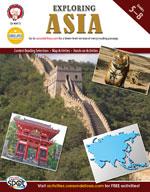 Exploring Asia by Mark Twain Media