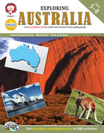 Exploring Australia by Mark Twain Media