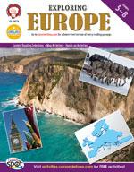 Exploring Europe by Mark Twain Media