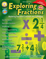 Exploring Fractions: Mastering Fractional Concepts and Operations by Mark Twain Media