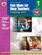 Fast Ideas for Busy Teachers: Lang. Arts, Gr. 1