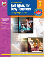 Fast Ideas for Busy Teachers: Lang. Arts, Gr. 2