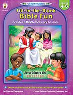 Fill-In-The-Blank Bible Fun, Grades 4 - 6
