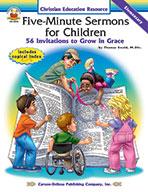 Five-Minute Sermons For Children, Elementary