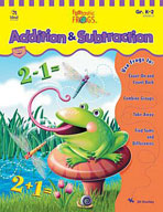 Funtastic Frogs Math Addition and Subtraction