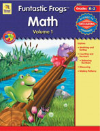 Funtastic Frogs Math, Volume 1