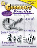 Geometry Practice Book by Mark Twain Media