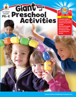 Giant Book of Preschool (PK Activities)