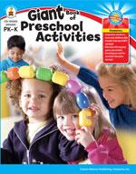 Giant Book of Preschool (PK Activities)