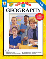 Hands-On Geography, Grades 6-8