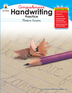 Handwriting Practice: Modern Cursive, Grades 2-5