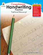 Handwriting Practice: Traditional Manuscript, Grades K-1