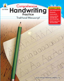 Handwriting Practice: Traditional Manuscript, Grades K-1