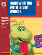 Handwriting with Sight Words Kindergarten