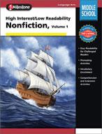 High Interest/Low Readability Non-fiction (Volume 1)