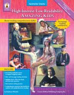 High-Interest/Low-Readability Nonfiction: Amazing Kids