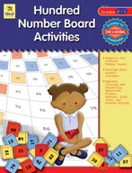 Hundred Number Board Activities, Grades K-1