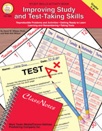 Improving Study and Test-Taking by Mark Twain Media