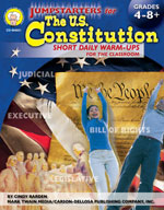 Jumpstarters U.S. Constitution by Mark Twain Media