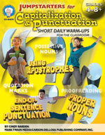 Jumpstarters for Capitalization & Punctuation by Mark Twain Media