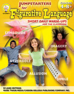 Jumpstarters for Figurative Language by Mark Twain Media