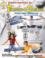 Jumpstarters for Fractions & Decimals by Mark Twain Media