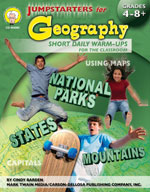 Jumpstarters for Geography by Mark Twain Media